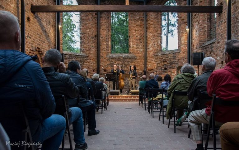 Concert in the ruins of the Church of st. Spirit in Jarocin(2019)